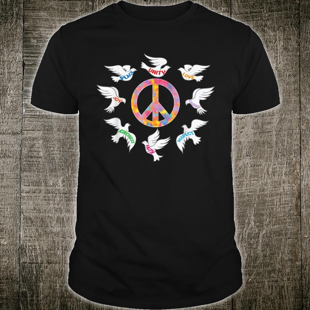 Doves Peace Sign Unity Shirt