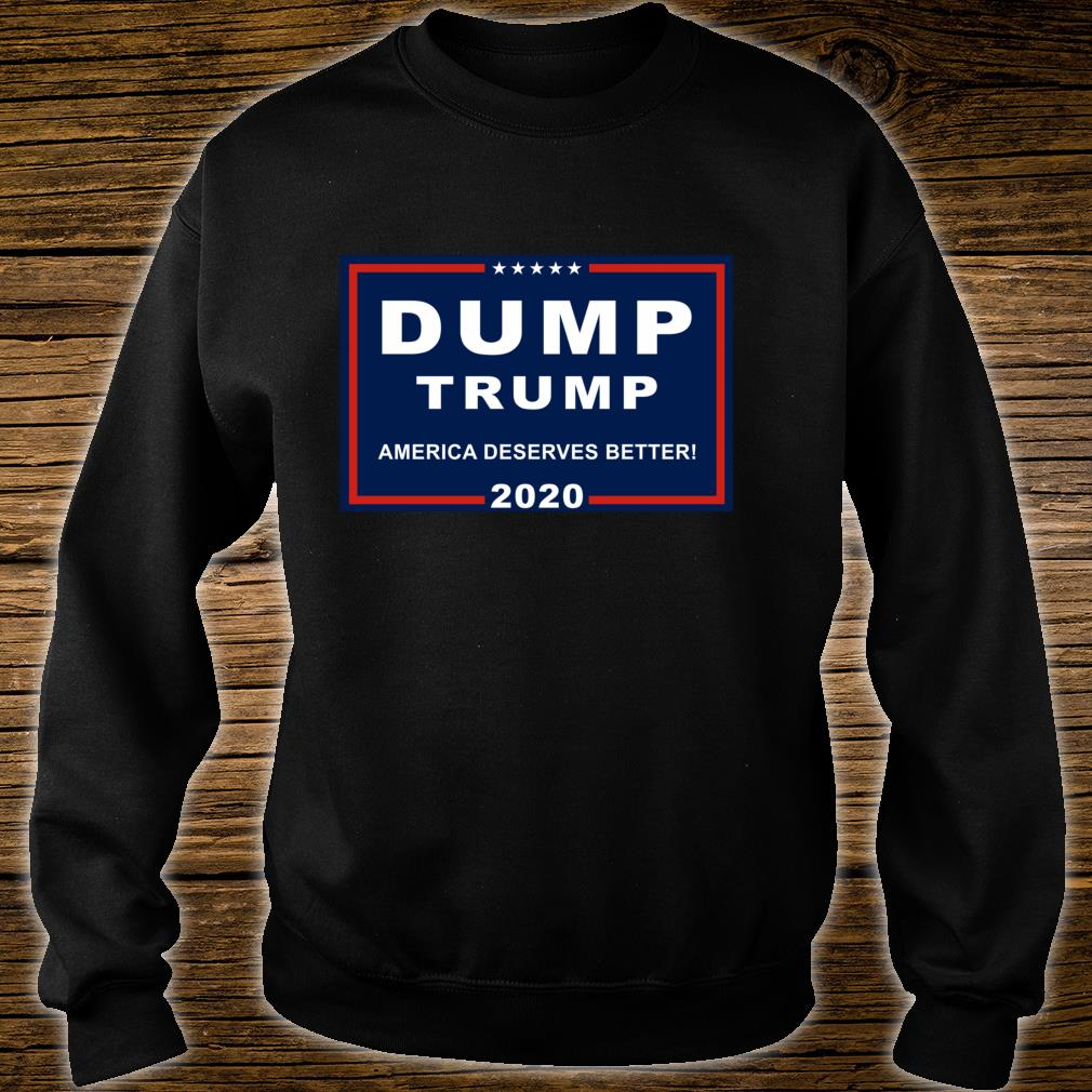Dump Trump AntiTrump Pun For Liberals Shirt sweater
