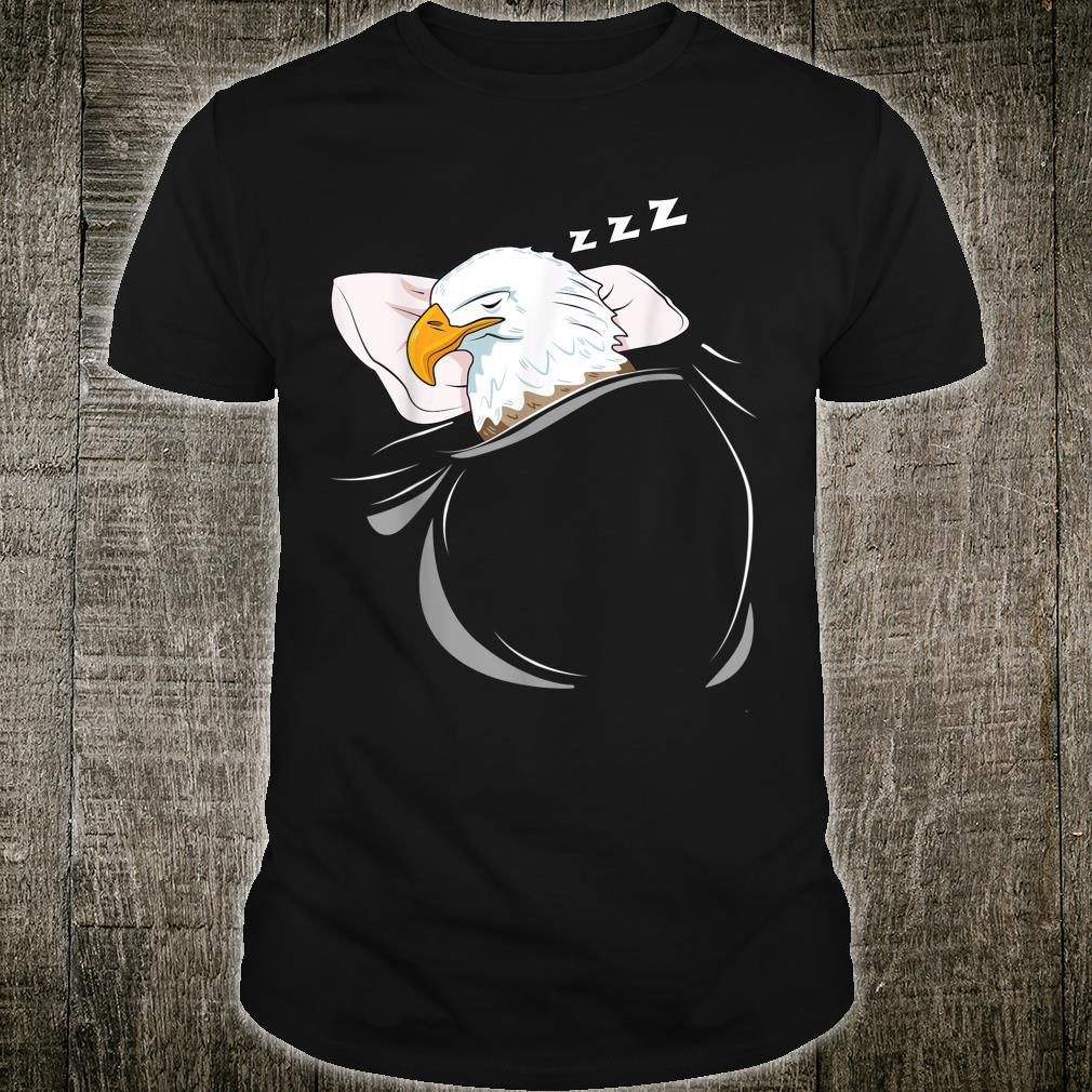 Eagle Sleeping Animal Pajamas Nap PJs Outfit Bald Eagle Shirt