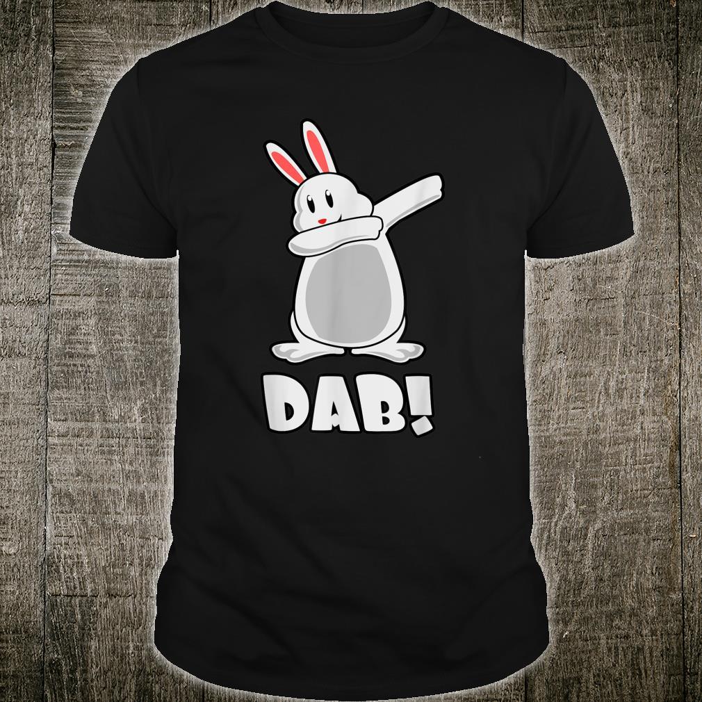 Easter Dabbing Bunny Cute Dab Dancing Easter Shirt