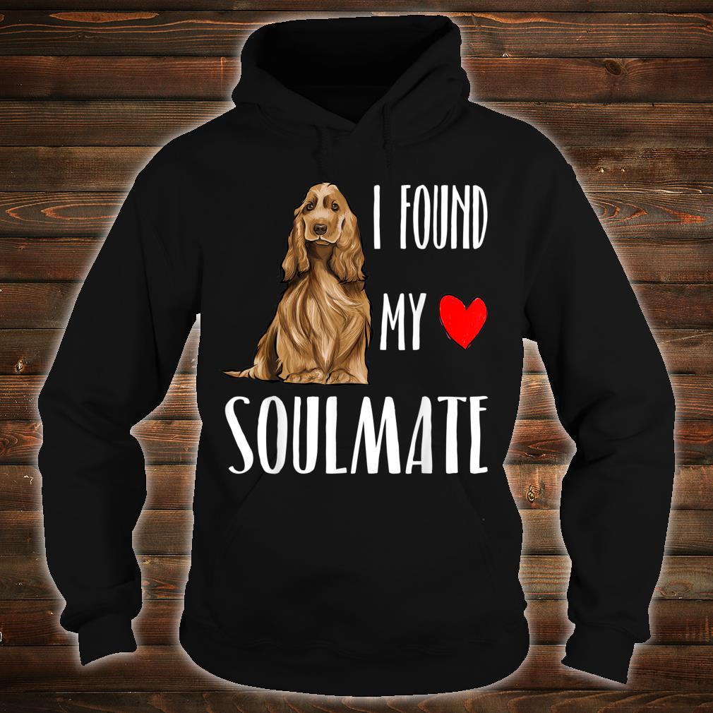 Englischer Cockerspaniel Mein Seelenverwandter Shirt hoodie