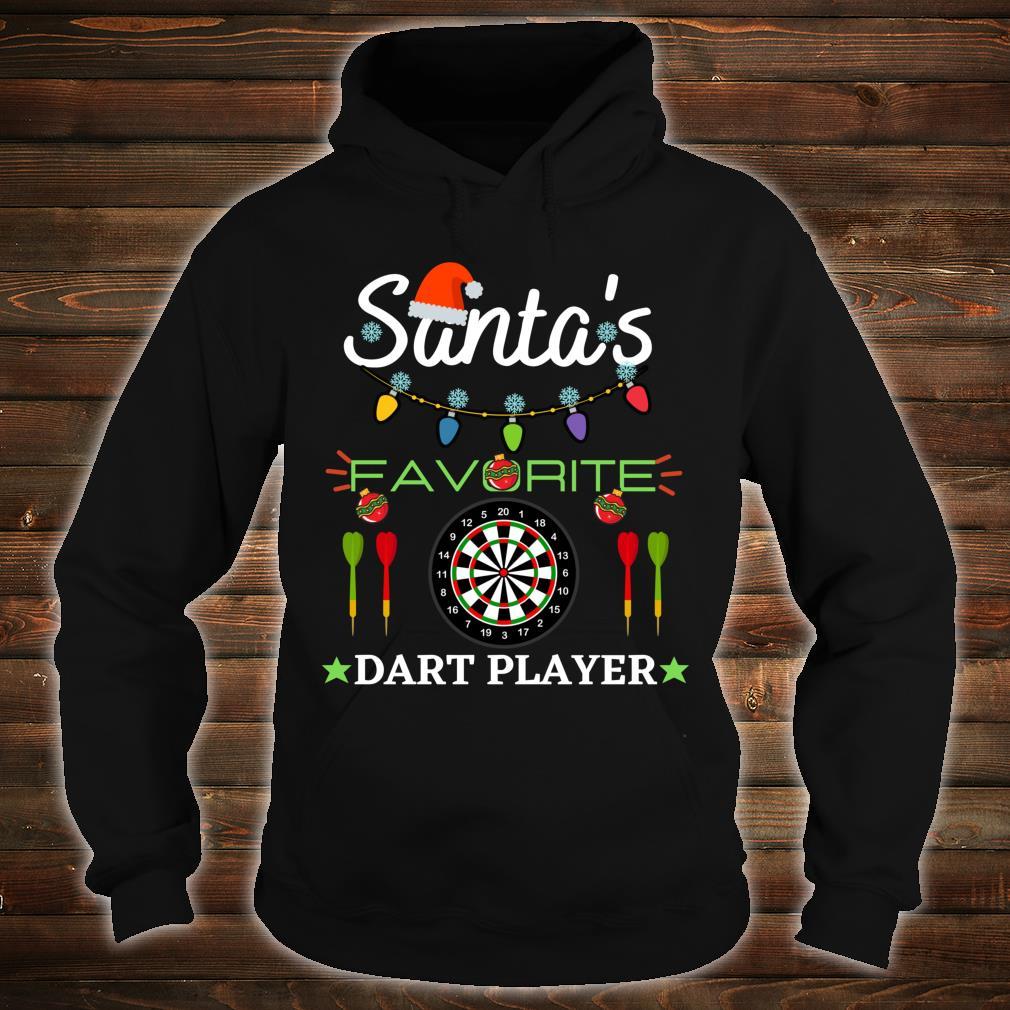 FUNNY DART PLAYER DARTBOARD DART GAME DARTS CHRISTMAS Shirt hoodie