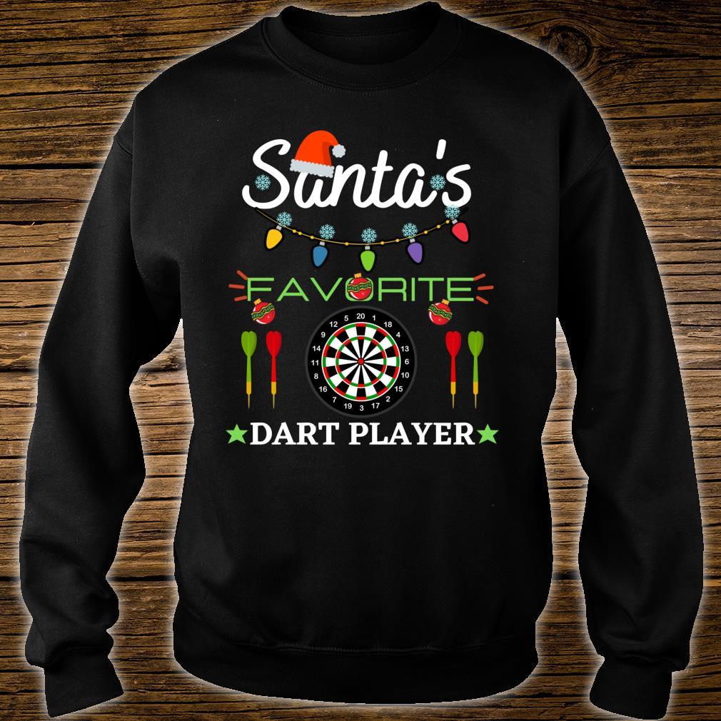 FUNNY DART PLAYER DARTBOARD DART GAME DARTS CHRISTMAS Shirt sweater