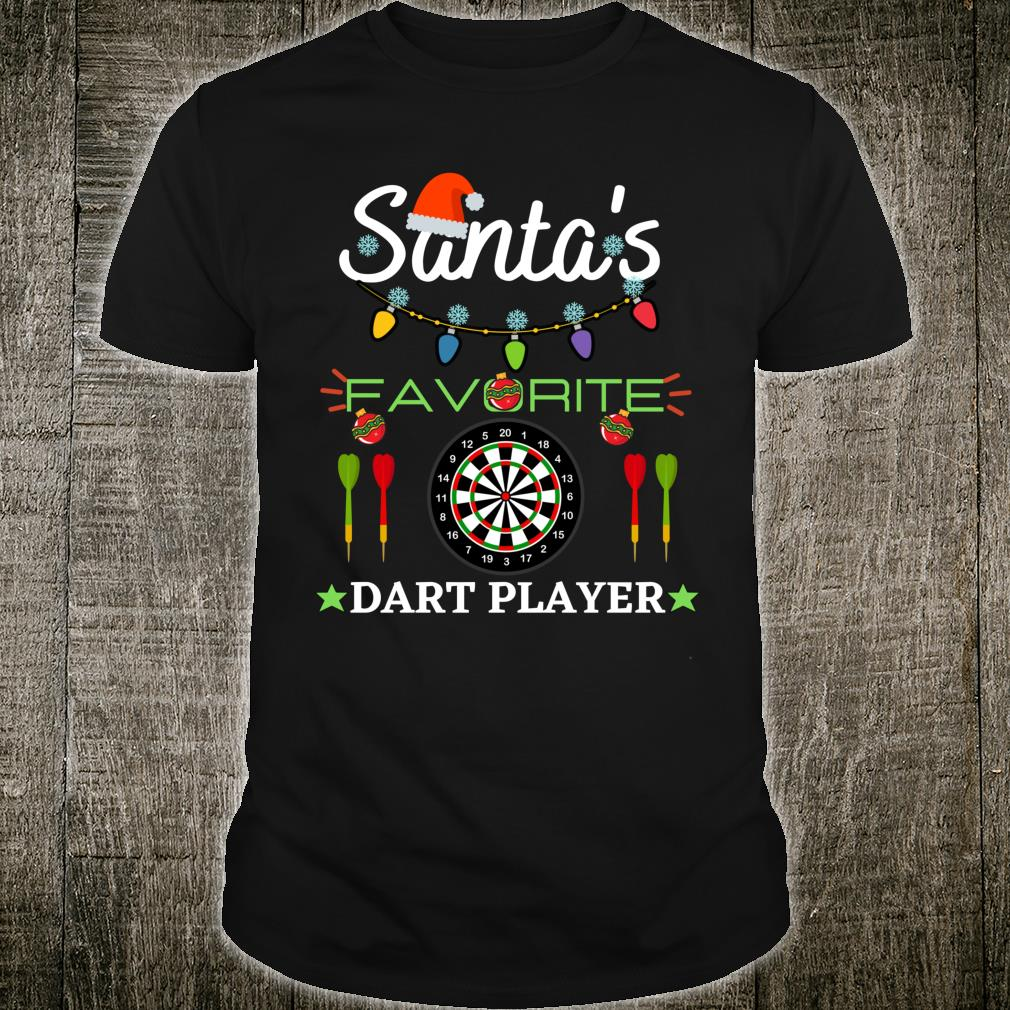 FUNNY DART PLAYER DARTBOARD DART GAME DARTS CHRISTMAS Shirt