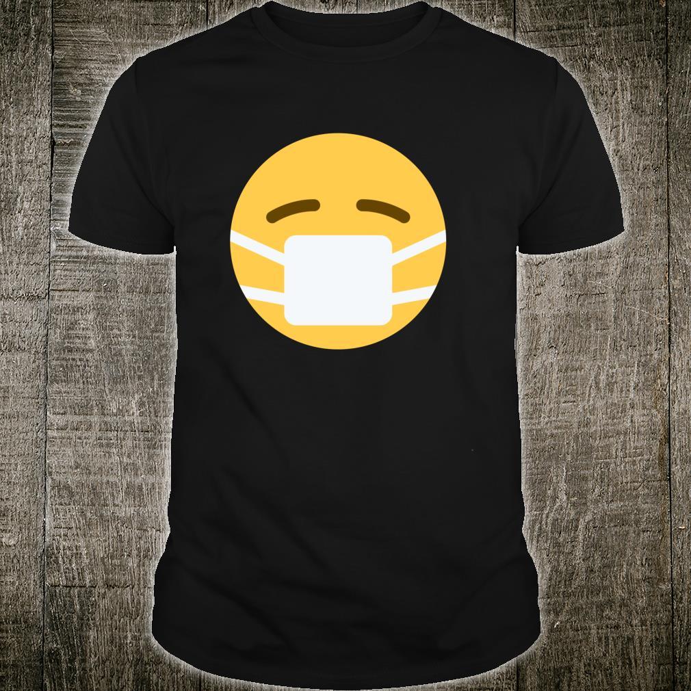 Face with Medical Mask Emoji Shirt