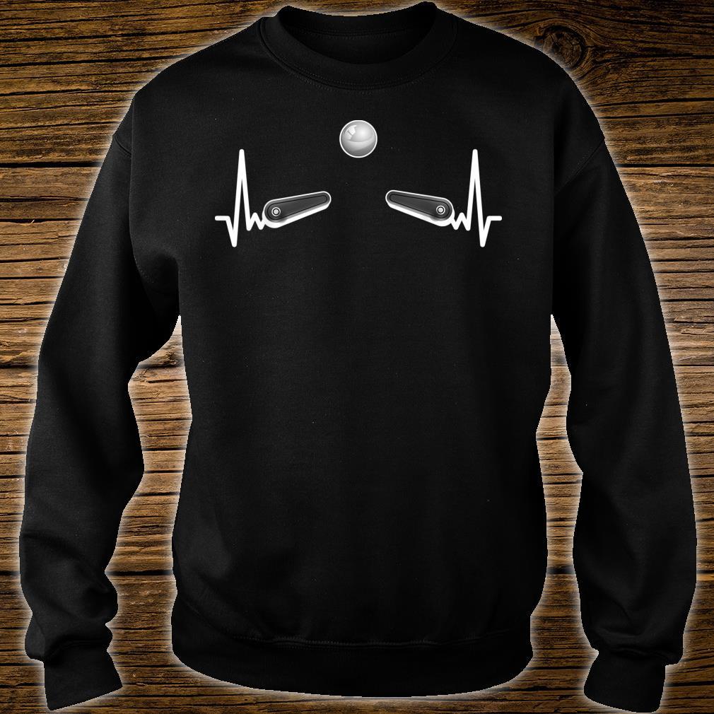 Flipper Flipperautomat Arcade Game EKG Spieleautomat Pinball Shirt sweater