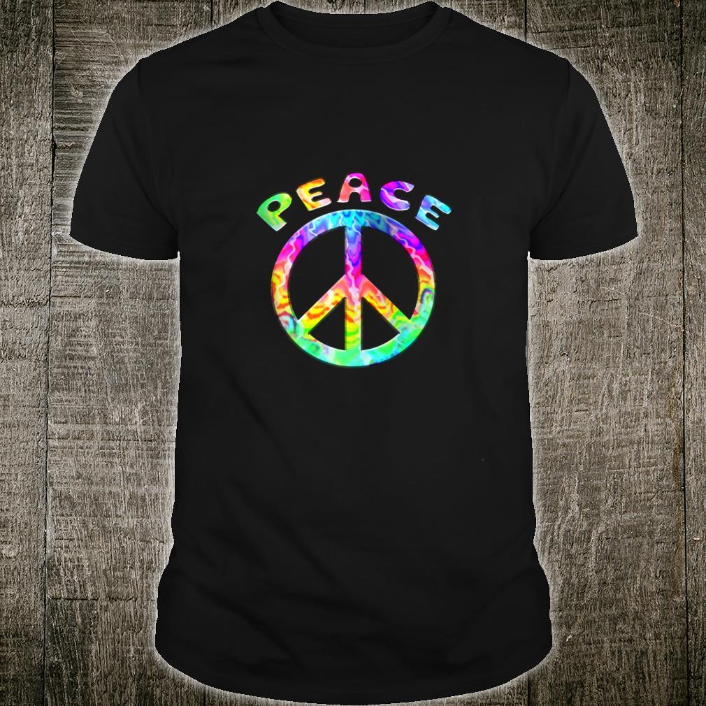 Flower Power Peace Hippie Love Retro 60s 70s Shirt
