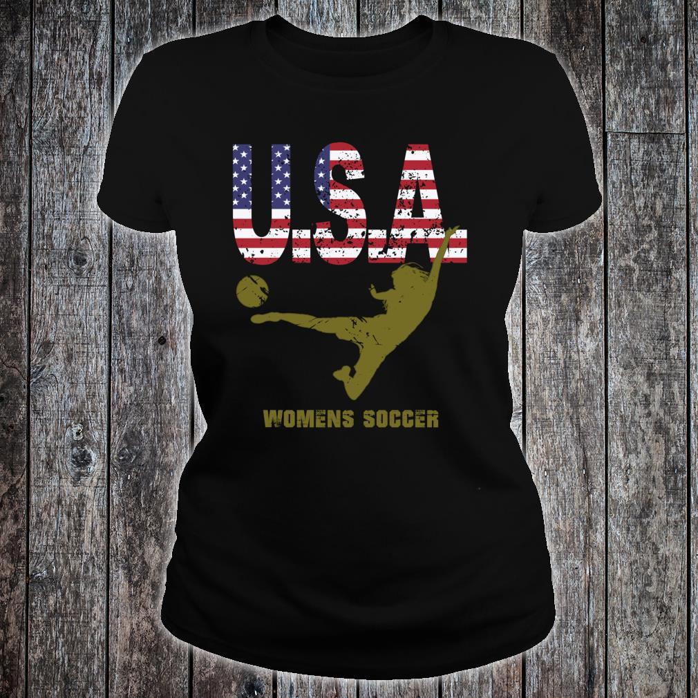 Football Supporter Tops Shirt ladies tee