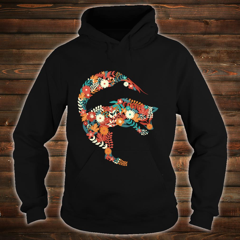 Fox Flower Stylish Fox Shirt hoodie