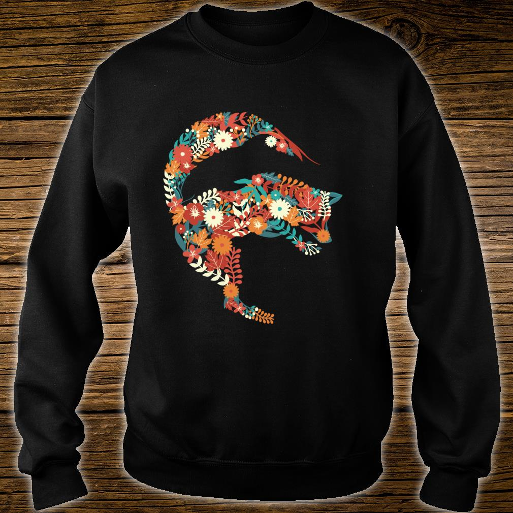 Fox Flower Stylish Fox Shirt sweater