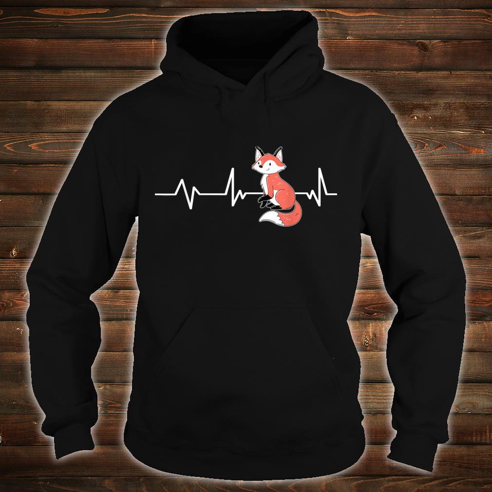 Fox Heartbeat Fox Fox Shirt hoodie