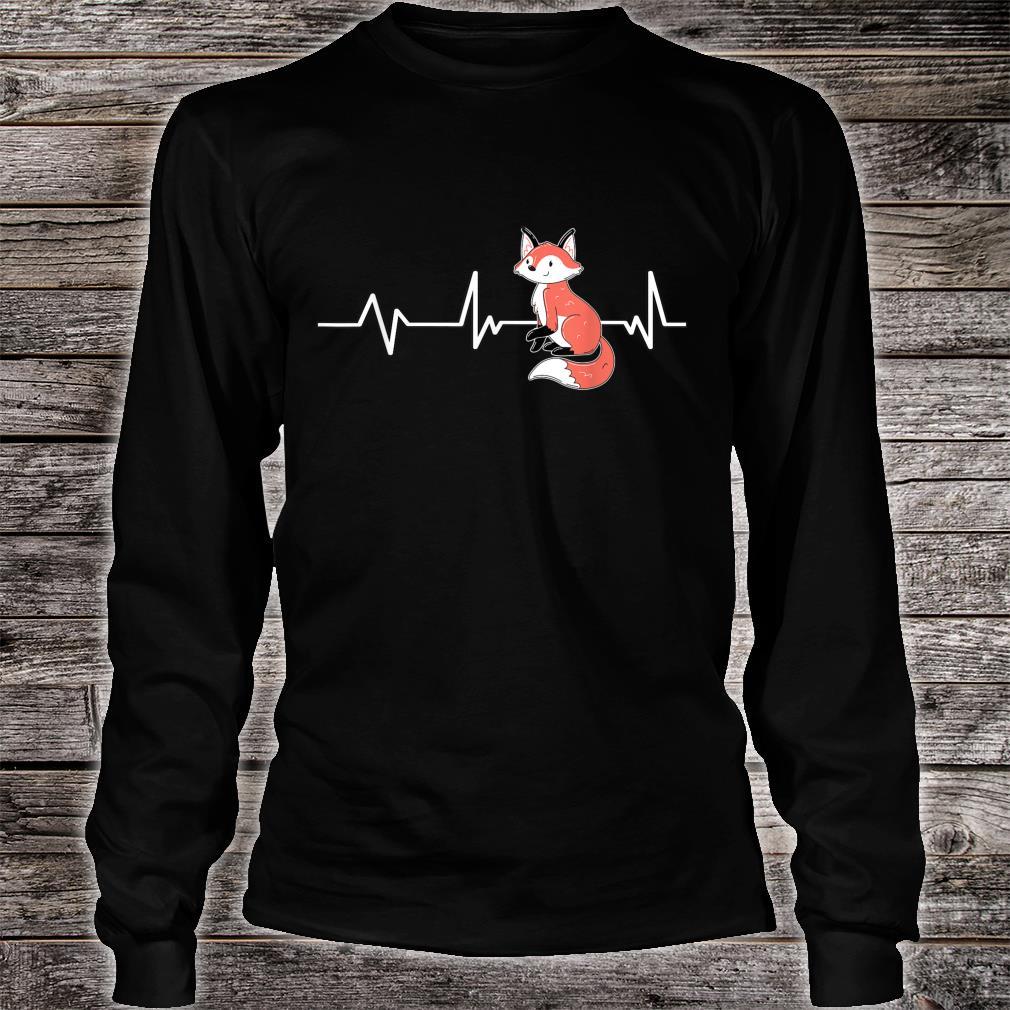 Fox Heartbeat Fox Fox Shirt long sleeved