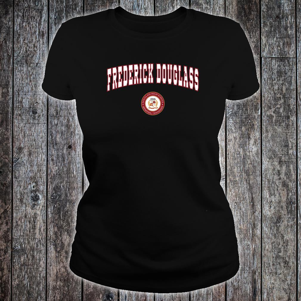 Frederick Douglas High School Red Devils Shirt ladies tee