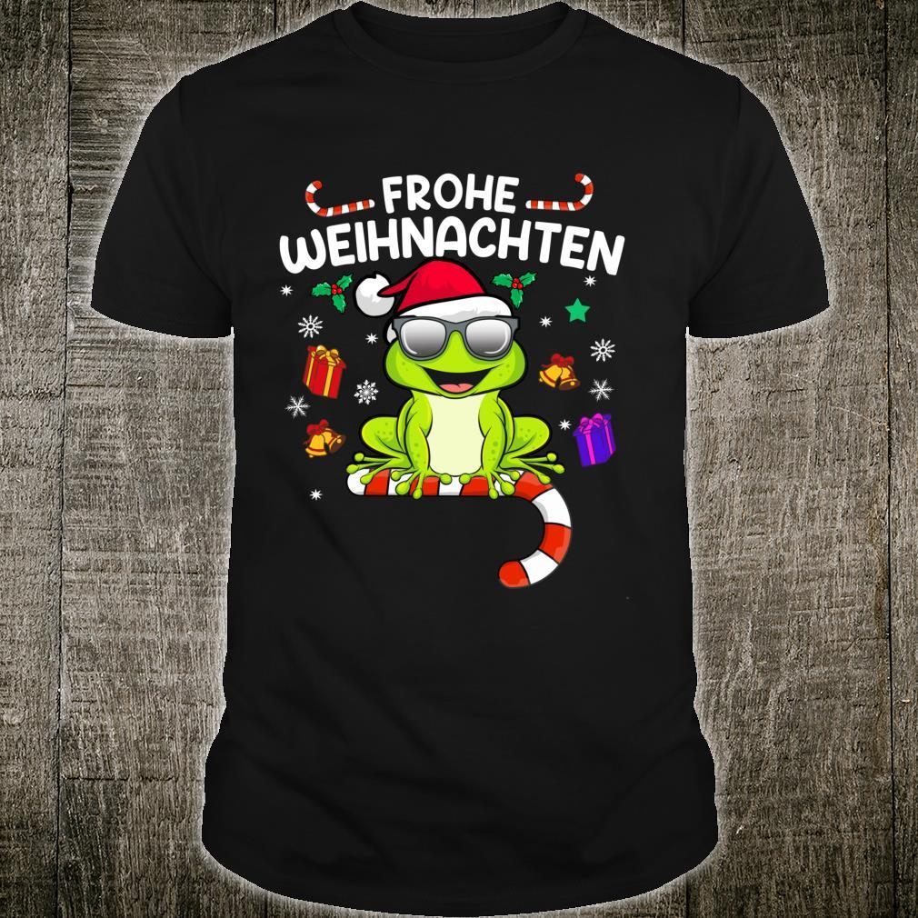 Funny Christmas Christmas Frog Shirt