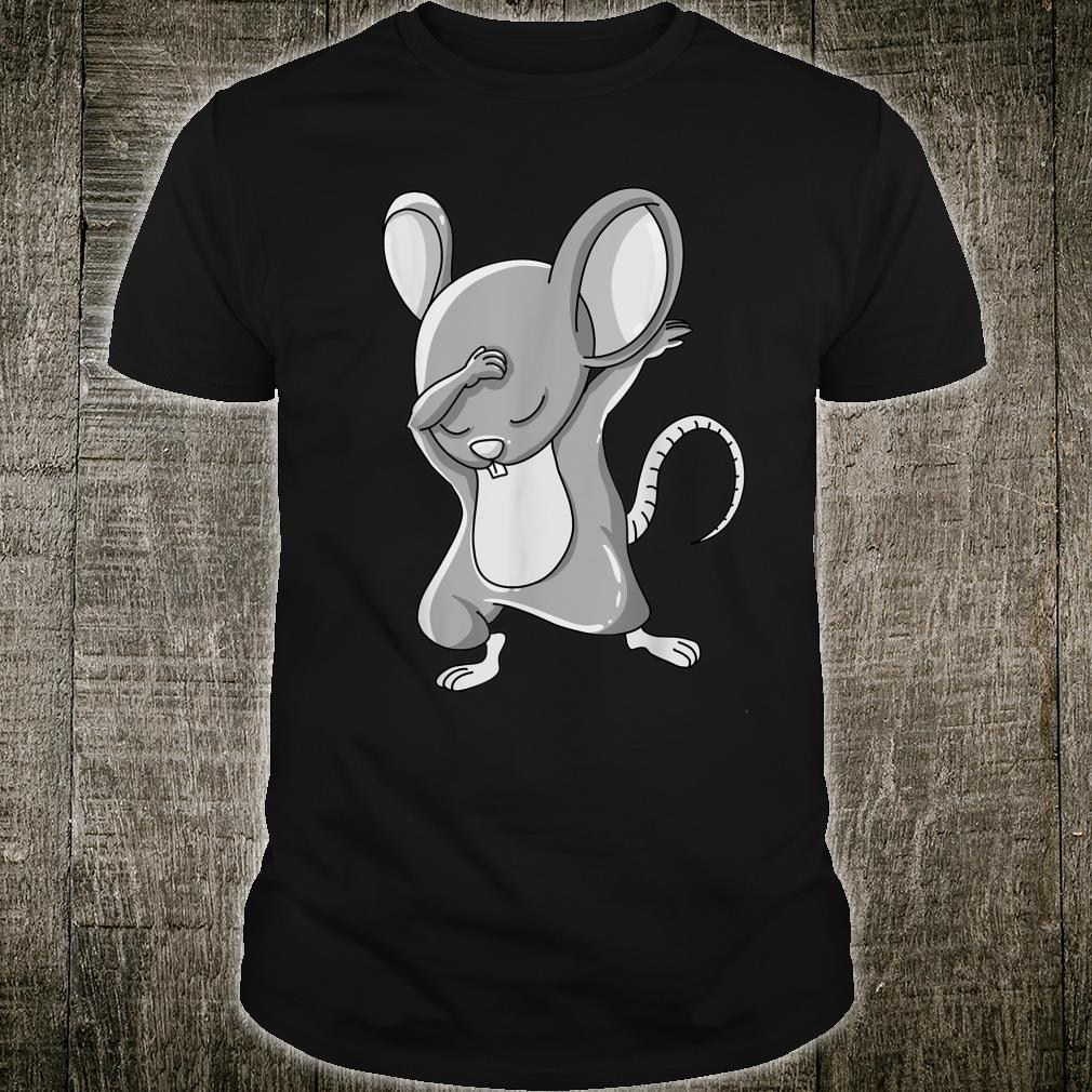 Funny Dabbing Mouse Cute Dab Dance Move Animal Rodent Shirt