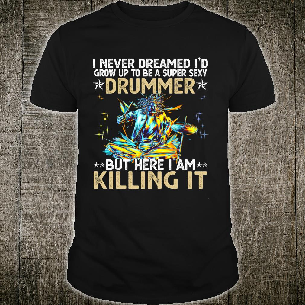 Funny Drummers Percussion Shirt
