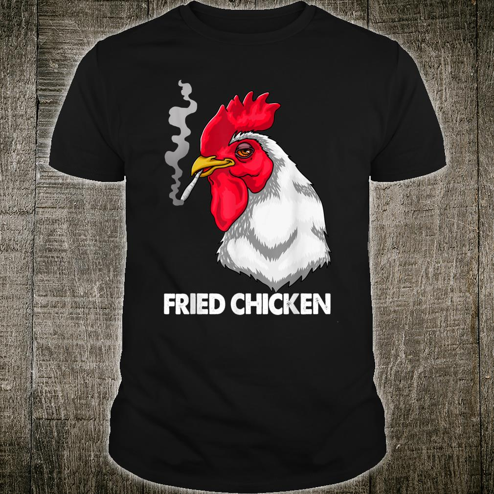 Funny Fried Smoking Chicken Flock Boss Shirt