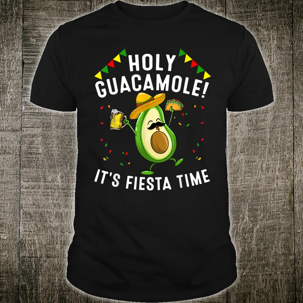 Funny Holy Guacamole Fiesta Cinco De Mayo Cute Mexican Shirt