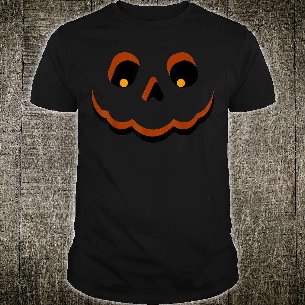 Funny Jack O' Lantern Pumpkin Halloween Costume Oufit Shirt