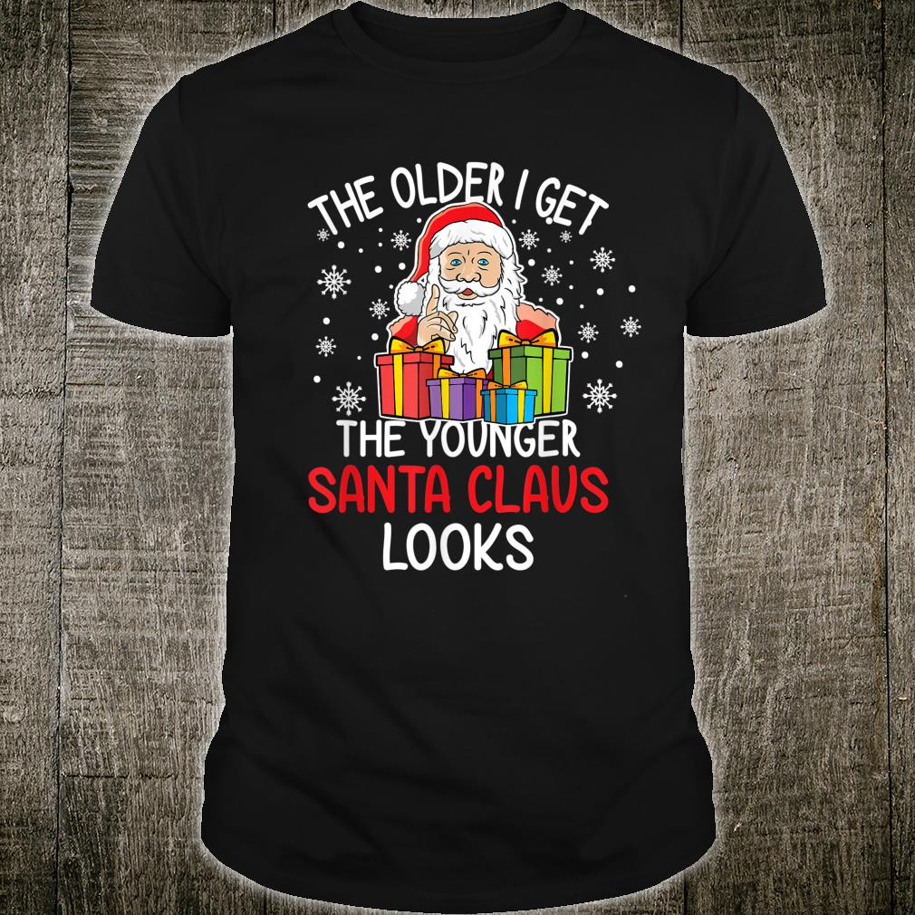 Funny Santa Claus Quotes Holiday His and Her Christmas Shirt