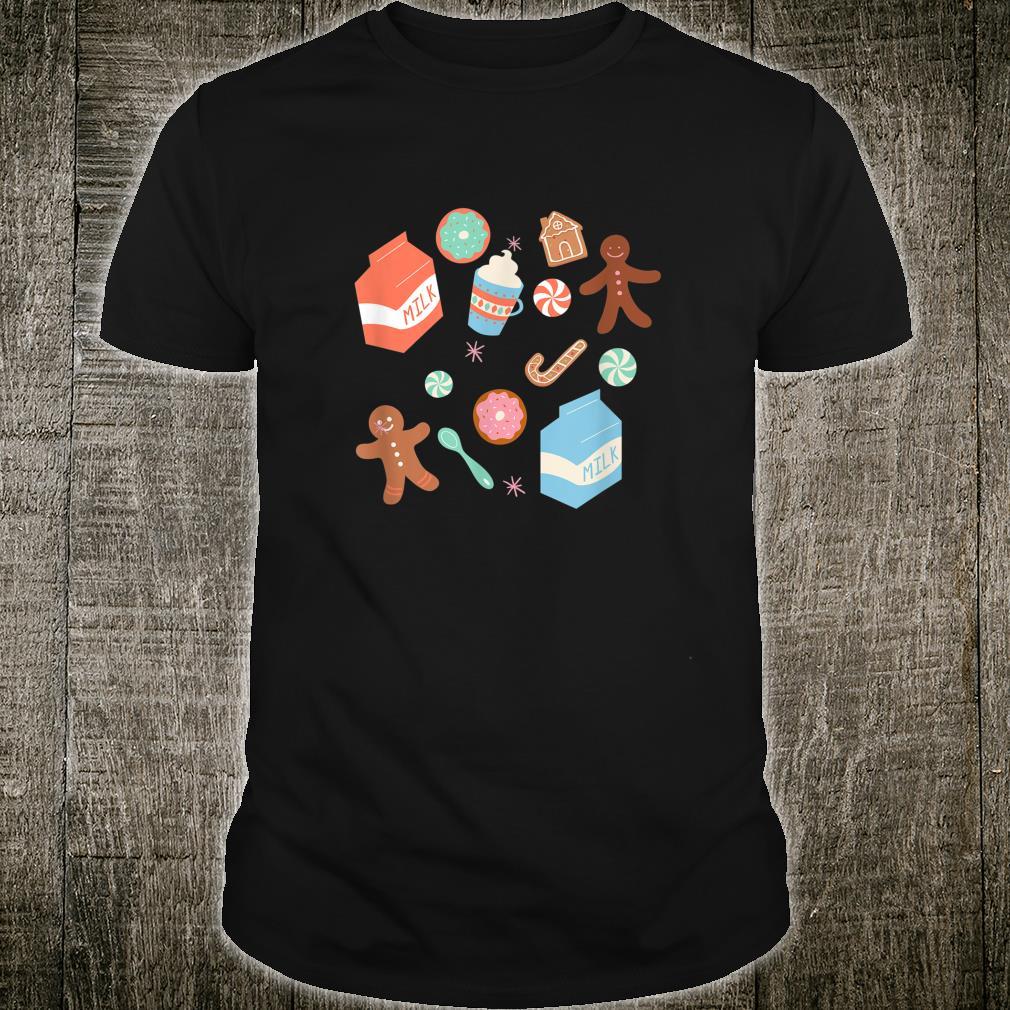 Funny Season's Eatings Christmas Cookies Milk Candy Coffee Shirt