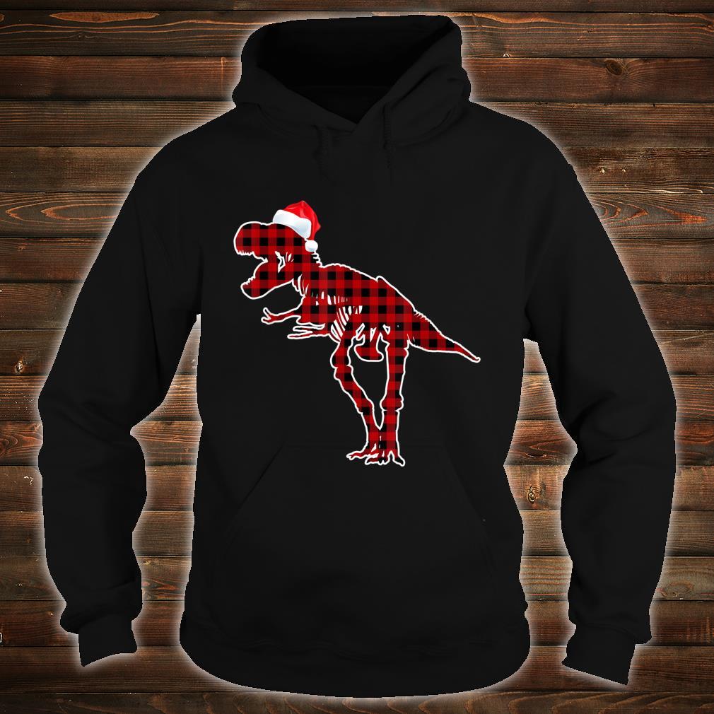 Funny Skeleton Dinosaur Christmas Pajamas T Rex Xmas Shirt hoodie
