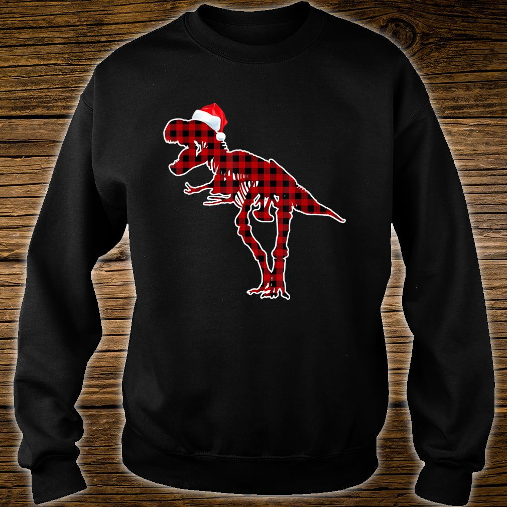 Funny Skeleton Dinosaur Christmas Pajamas T Rex Xmas Shirt sweater