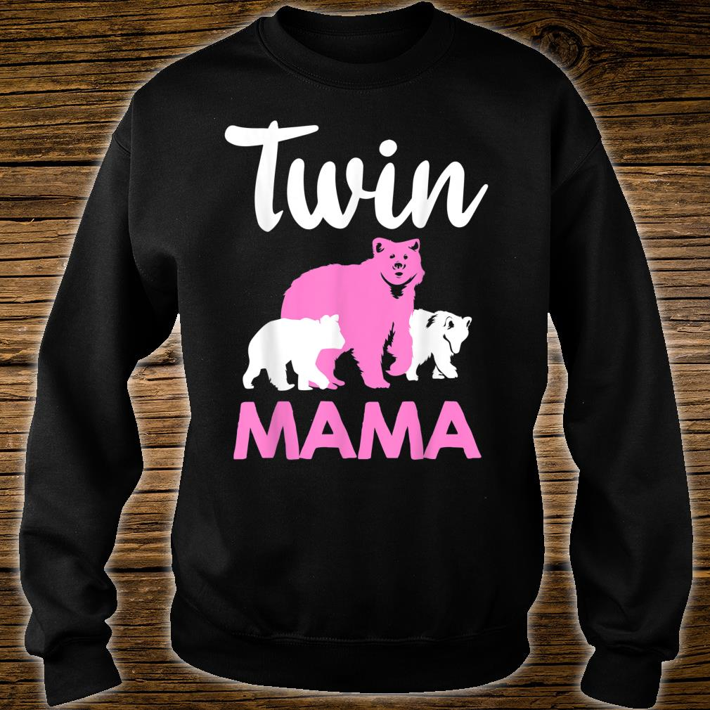 Funny Twin Mom Mother Cool Mama Bear And Cubs Shirt sweater