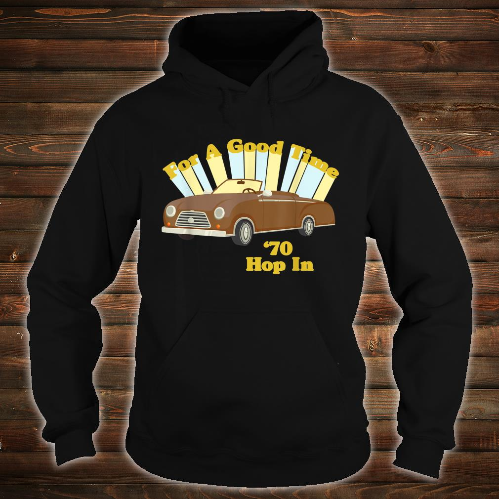 Funny Vintage 70's Decade Good Times Shirt hoodie