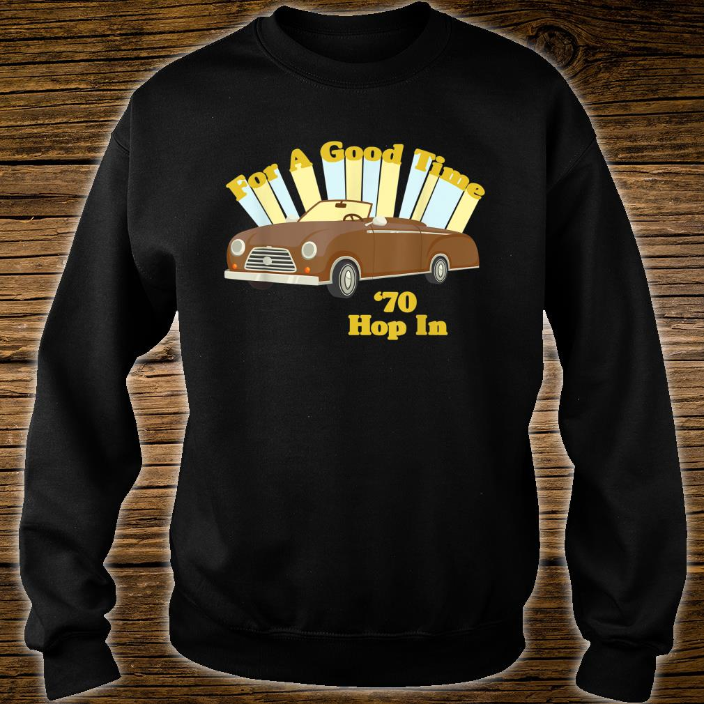 Funny Vintage 70's Decade Good Times Shirt sweater