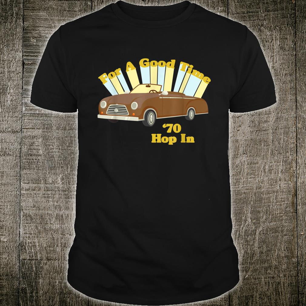Funny Vintage 70's Decade Good Times Shirt