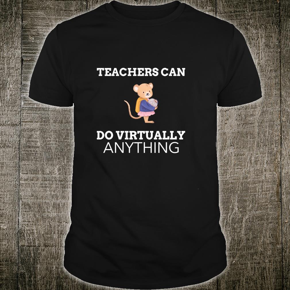 Funny Virtual Teacher Shirt