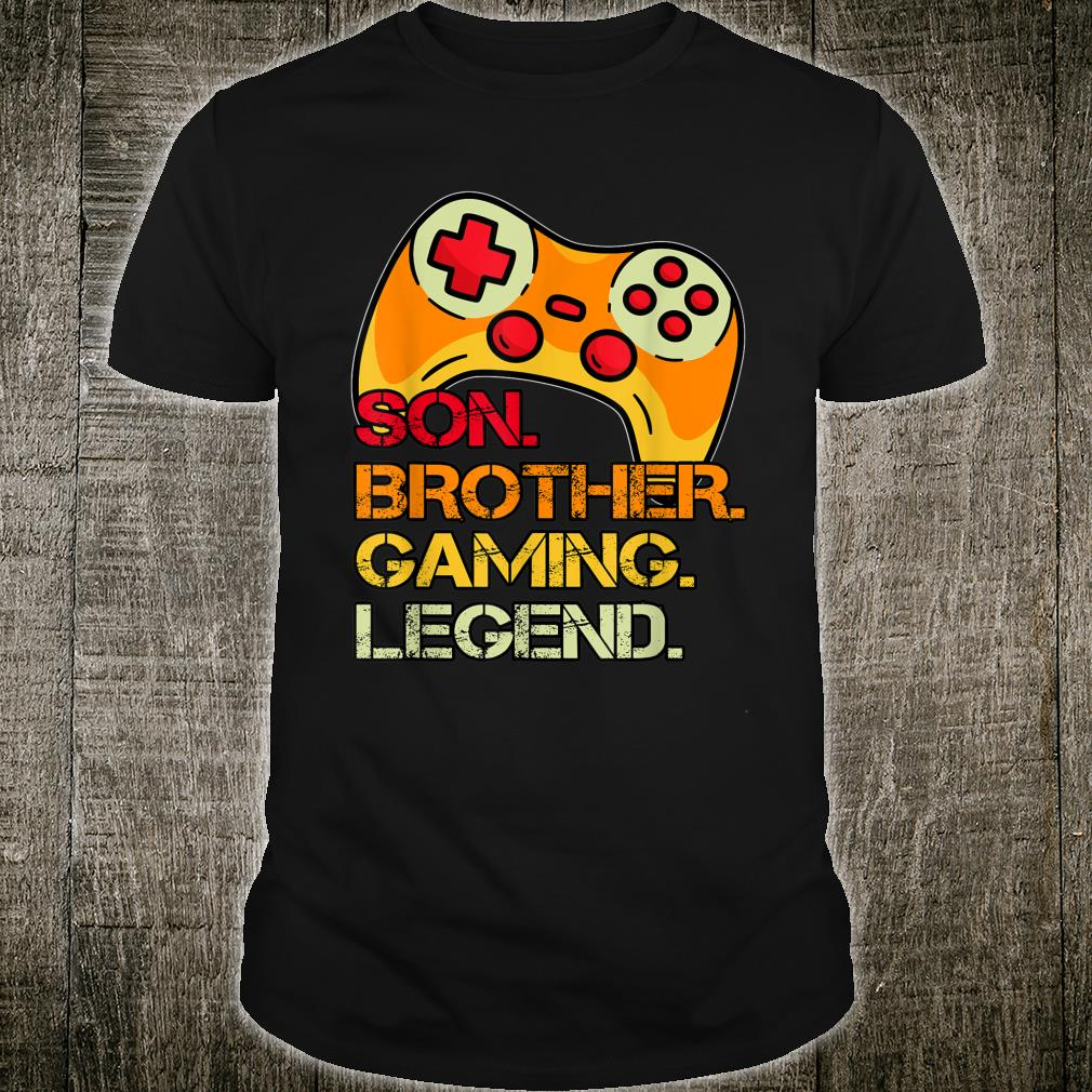 Gaming Fornage Boys 812 Year Old Christmas Gamer Shirt