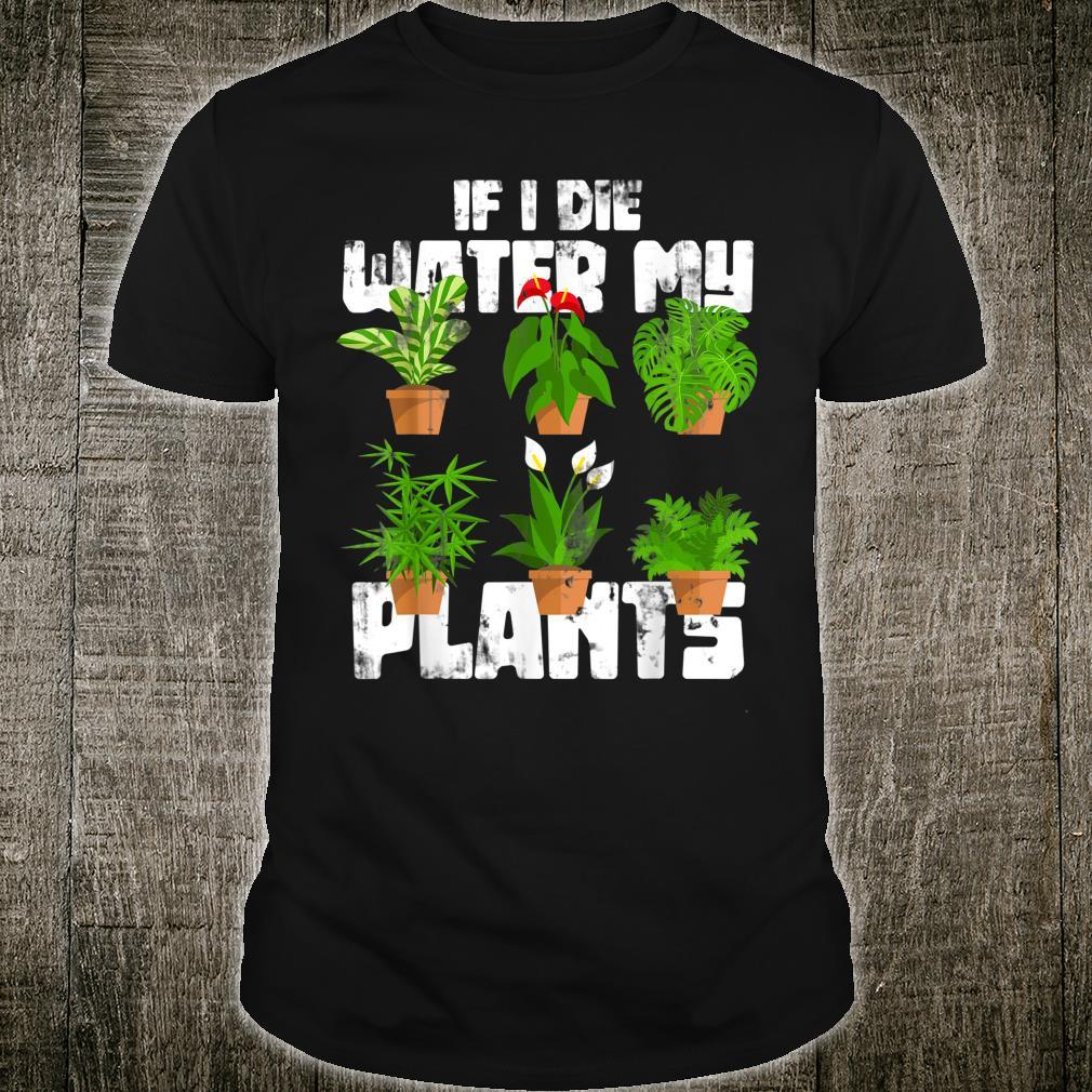 Gardener Hobby Plants Gardening Shirt