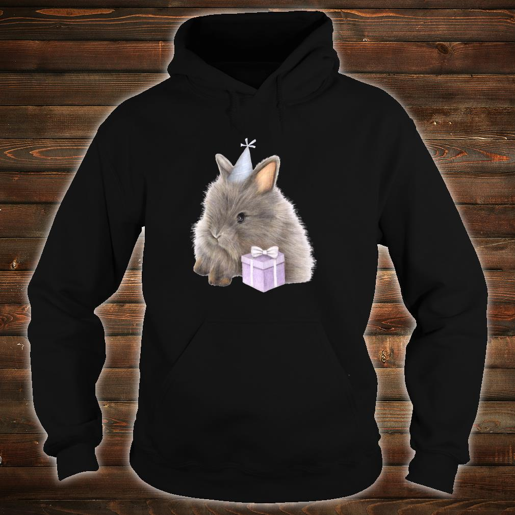 GeburtstagsHäschen mit anwesender netter Zeichnung Shirt hoodie