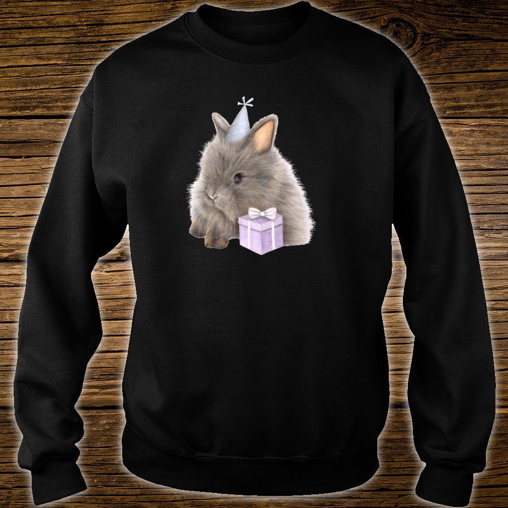 GeburtstagsHäschen mit anwesender netter Zeichnung Shirt sweater