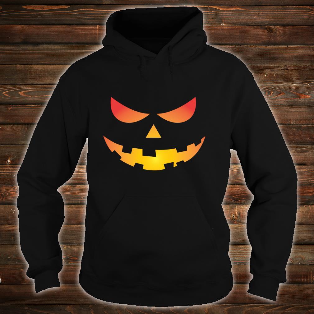 Giant Jack O' Lantern Face Halloween Pumpkin Fun Shirt hoodie