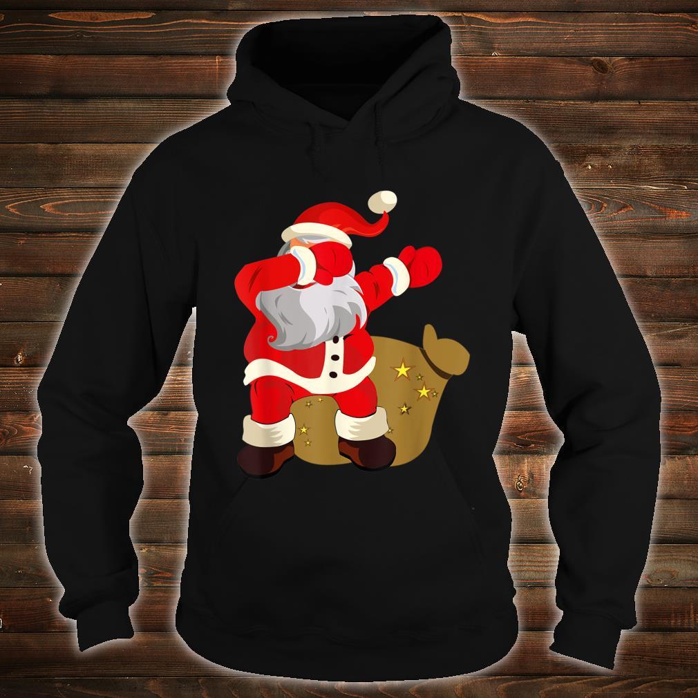 Gift Present Christmas Dab dabbing Santa Claus Shirt hoodie