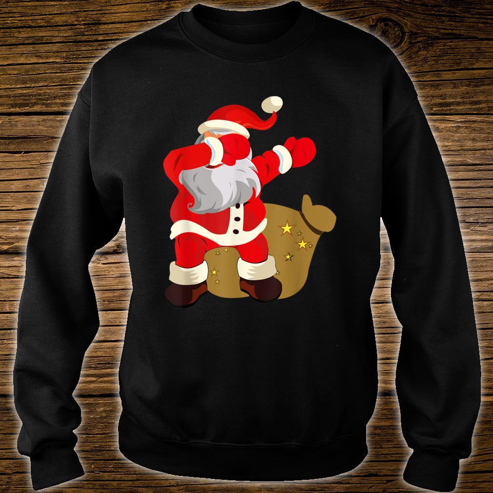 Gift Present Christmas Dab dabbing Santa Claus Shirt sweater