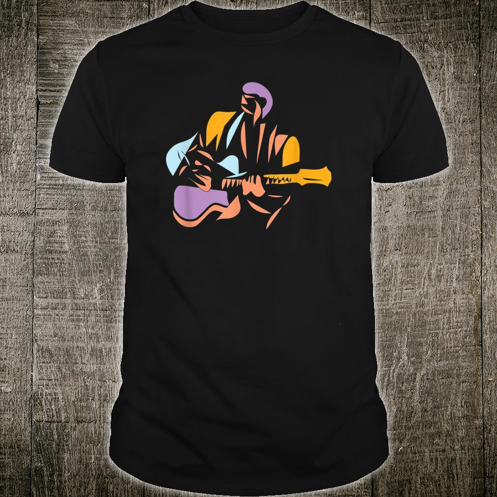 Gitarrist im modernen Stil Shirt