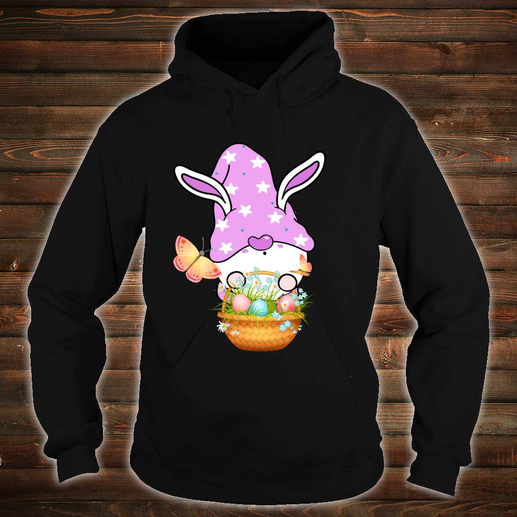 Gnome Easter Basket Outfit Easter Girls and Toddlers Shirt hoodie