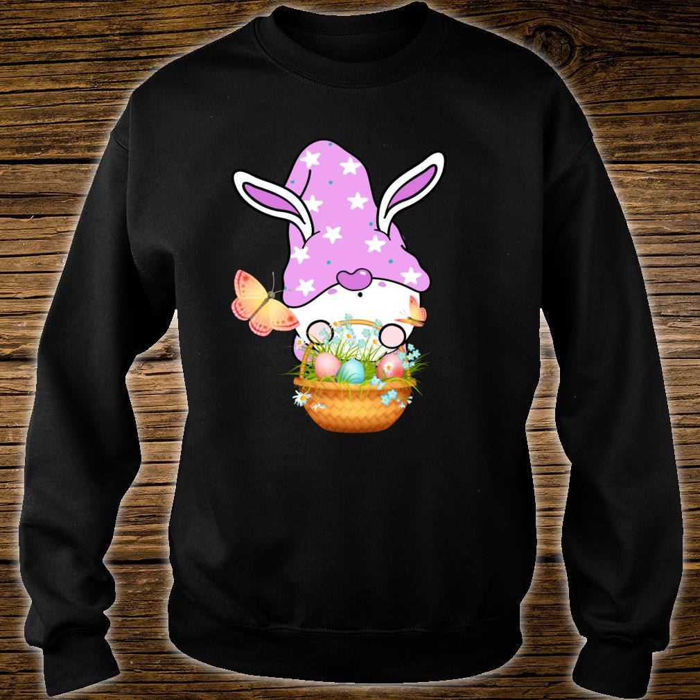 Gnome Easter Basket Outfit Easter Girls and Toddlers Shirt sweater