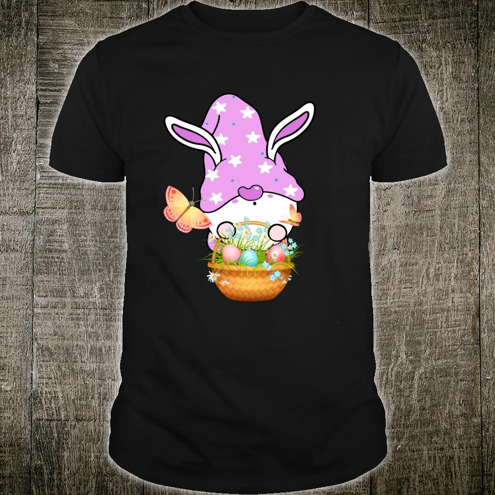 Gnome Easter Basket Outfit Easter Girls and Toddlers Shirt