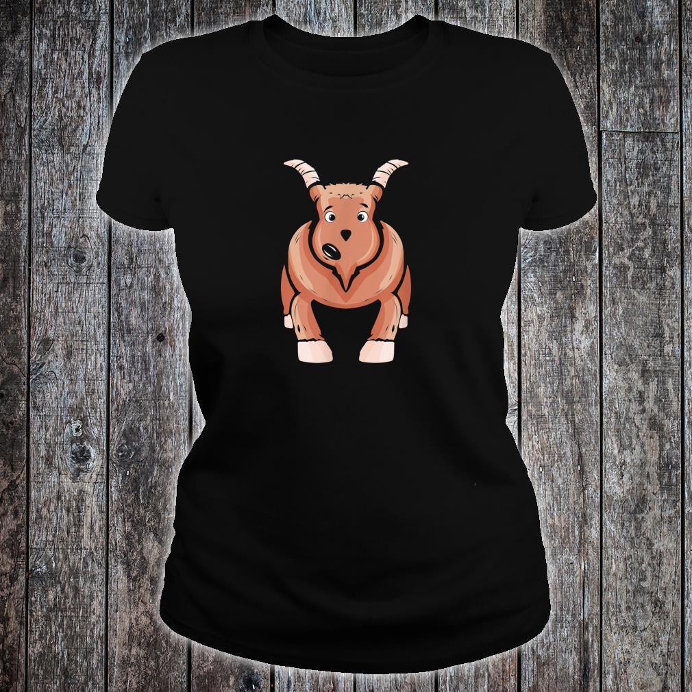 Goat Farm for Farmer Goats Rancher Farming Shirt ladies tee