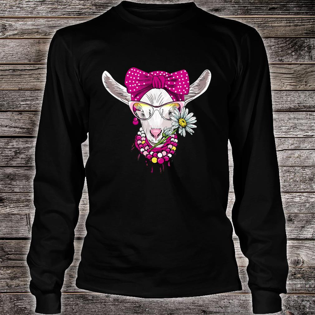 Goats Bandana Farm Animal Goats Shirt long sleeved