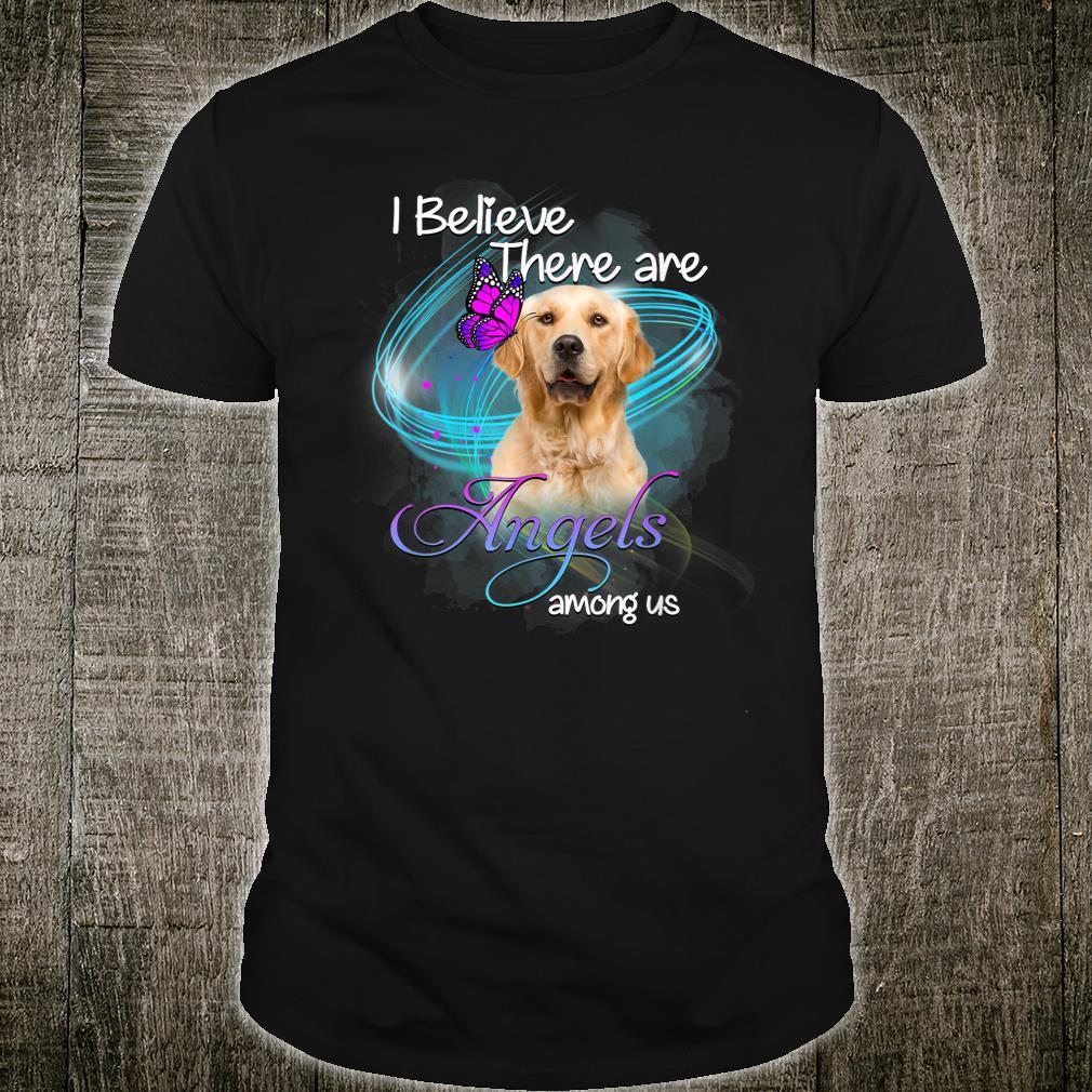 Golden Retriever Dog An Angel Among Us Shirt