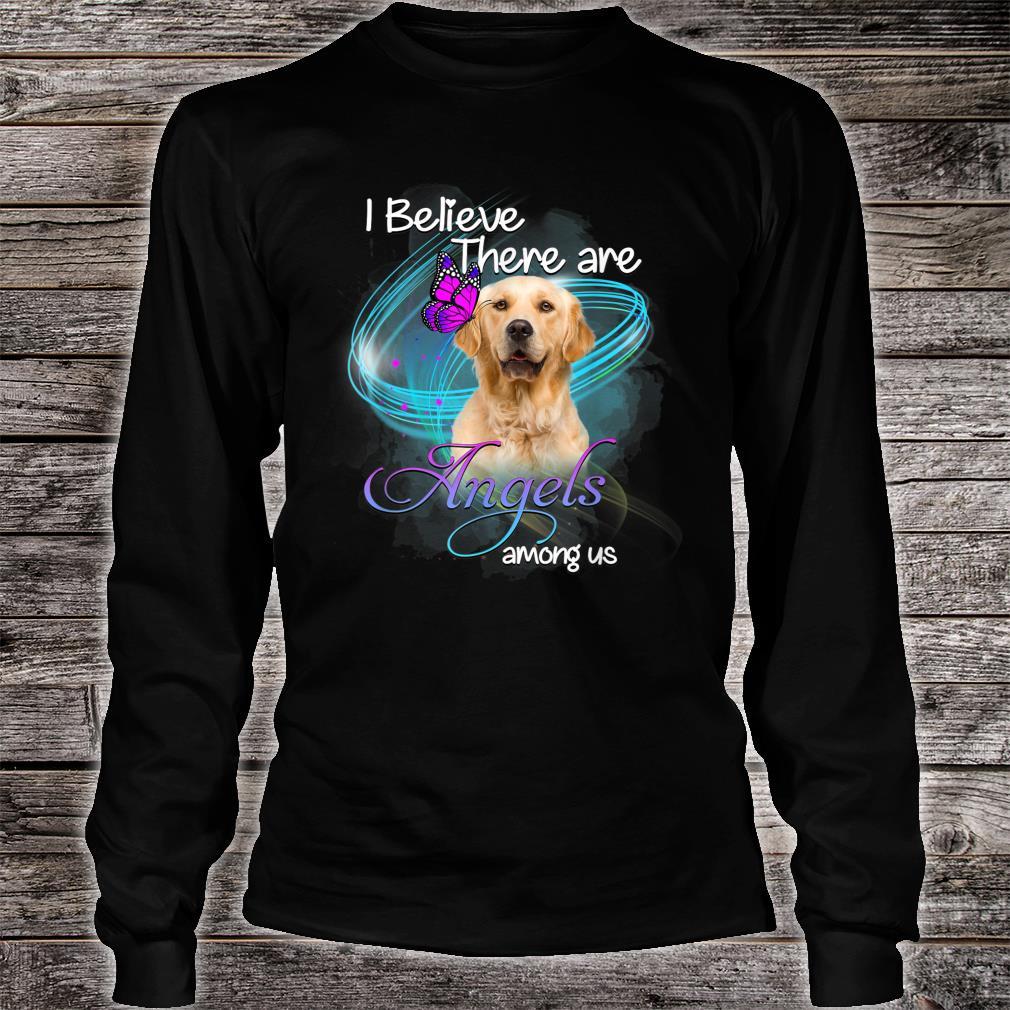 Golden Retriever Dog An Angel Among Us Shirt long sleeved