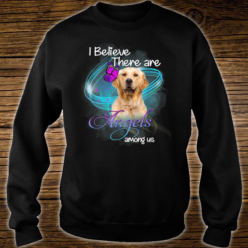 Golden Retriever Dog An Angel Among Us Shirt sweater