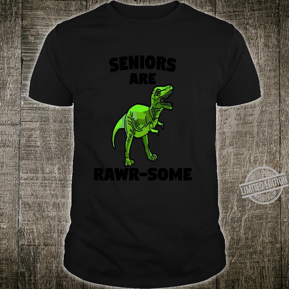 Graduation Party Matching Dinosaur Seniors Are Rawrsome Shirt