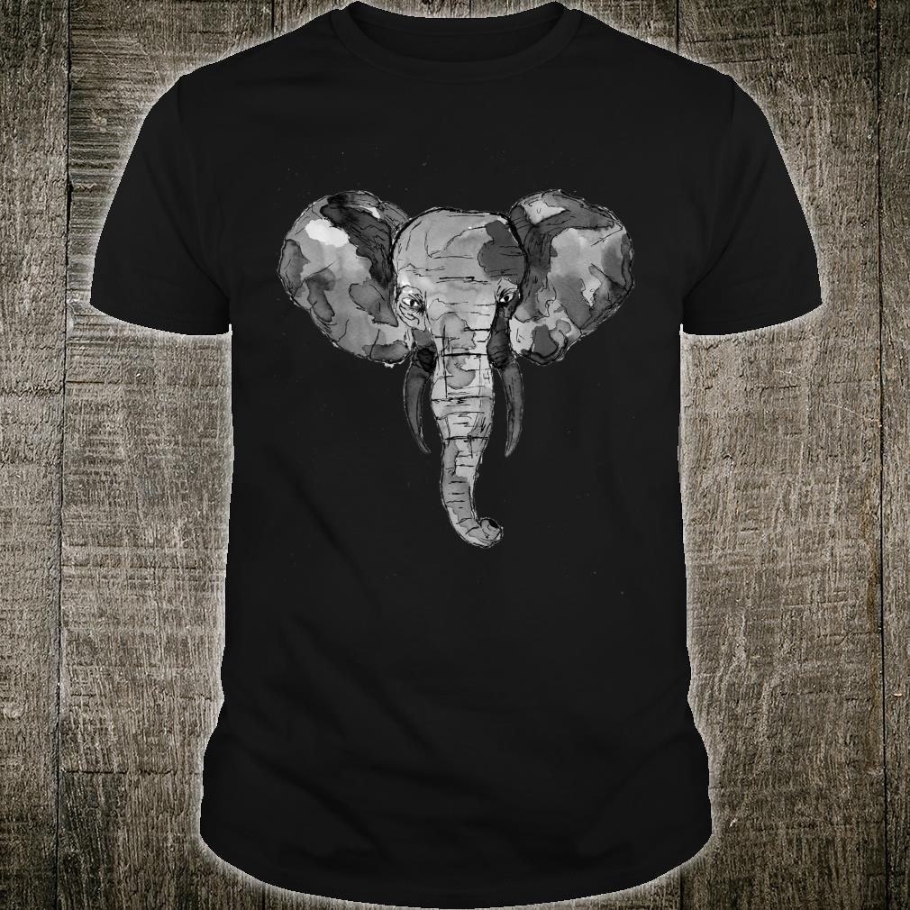 Grey African Elephant Shirt